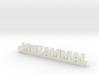 MUZAMMAL_keychain_Lucky 3d printed