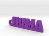 HUMA_keychain_Lucky 3d printed