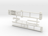 1/64th Roll Off Truck Body frame 3d printed