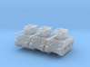 M4A3 Sherman 76mm (x3) 1/200 3d printed