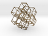 Rhombic Dodecahedral Lattice 3d printed