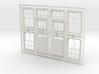 CPR standard No. 5 doors  No. 8 windows 3d printed
