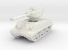 M4A3E8 Sherman 76mm (sandshield) 1/72 3d printed