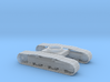 1/64th Track undercarriage for Gradall Excavator 3d printed