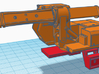 1/87th Truck mount Flatbed for Gradall Excavator 3d printed