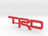 TRD V5 Letter Inserts 3d printed