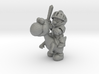 Mario Knight Mounted miniature fantasy games rpg 3d printed