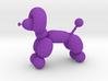 balloon dog 3d printed