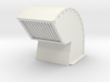 Gooseneck Exhaust Vent 01. 1:12 Scale 3d printed