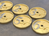 Imperial Coin Objectives 3d printed Small size shown