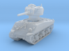 M4A3 Sherman 75mm late 1/160 3d printed