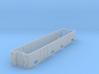 Furgon Renfe PD-150 escala H0. 3d printed