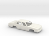 1/25 1989 Ford Crown Victoria Shell 3d printed
