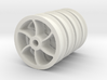 """7/8"""" Scale Dinorwic Double-Flanged Wheels 3d printed"""