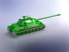 Russian IS-7 Heavy Tank 1/220 3d printed