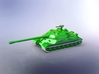 Russian IS-7 Heavy Tank 1/144 3d printed