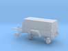 Generator Trailer With Hyrail 1-87 HO Scale 3d printed