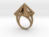 Pyramid Ring Size9 3d printed