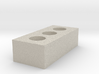 1/12 Scale Brick 3d printed