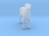 O Scale Wired Terrier 3d printed This is a render not a picture