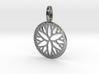 Circle of droplets pendant 3d printed