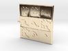 Jupiter Yantra Talisman Pendant with Perimeter 3d printed