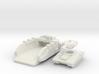"""Ironhull"" Landing Craft + ""Leopard"" Tank 6mm 3d printed"