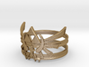LoZ - Triforce ring - Zelda - large sizes (23 to 2 3d printed