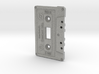 Cassette Light Switch Plate 3d printed