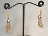 Maple Seed Earrings 3d printed Does not include hooks.