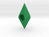 (The Sims) Plumbbob European Charm Bracelet bead 3d printed