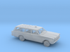 1/64 1966 Ford Country Wagon FireChief Kit 3d printed