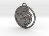 Witcher Pendant (Netflix) 3d printed