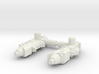 TF Weapon Seige  Chromia Fembot handgun set 3d printed