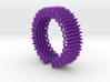 Spike Bracelet - Flexible Medium Size 3d printed