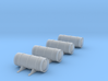 Nuclear Cask - Set of 4 - HOscale 3d printed