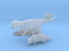 Early Cretaceous Stand-off 3d printed