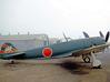 Nameplate Ki-84 Hayate 3d printed