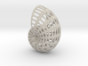 Shell Wireframe 2mm 3d printed