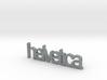 Helvetica Pendant 3d printed