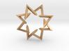 Regular 3D Polygon: (+++---)^4-rotated (medium) 3d printed