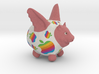 Flying Pig Classic Apple Logo 3d printed