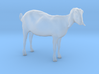 3D Scanned Nubian Goat - H0/1:87 scale 3d printed