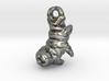 Tardigrade charm 3d printed