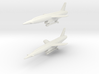 Vought SSM-N-9 Regulus II (2 models) 6mm 1/285 3d printed