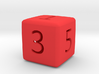 Numeric Dice 3d printed