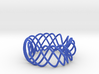 4X4 57 40 Twisted Bangle 3d printed