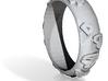 Leopard Print Ring - Sz. 8 3d printed