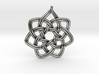 7 pointed woven pendant 3d printed