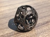 Apollonian Octahedron Mini 3d printed Polished Bronze Steel